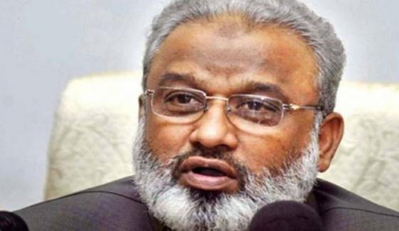 ارباب رحیم کی عمران خان اور گورنر پر تنقید