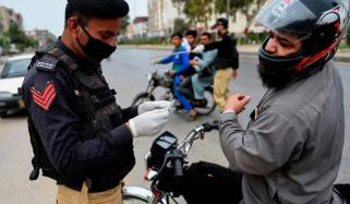 4 روز میں سندھ پولیس کے 199 اہلکار کورونا وائرس کا شکار