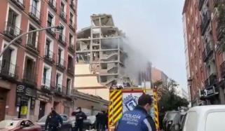 اسپین کے دارالحکومت میڈریڈ میں دھماکا