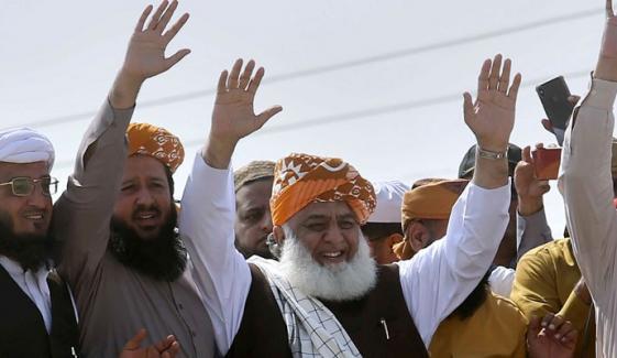 کراچی،JUI کواسرائیل نامنظور ملین مارچ کی اجازت نہ مل سکی