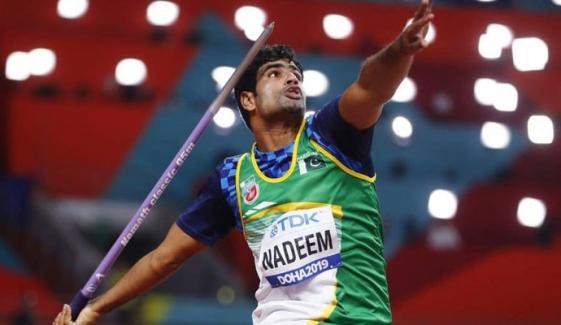 ارشد ندیم  ٹوکیو اولمپکس میں میڈل جیتنے کیلئے پرعزم