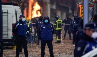 اسپین میں دھماکا، 2 افراد ہلاک، 8 زخمی