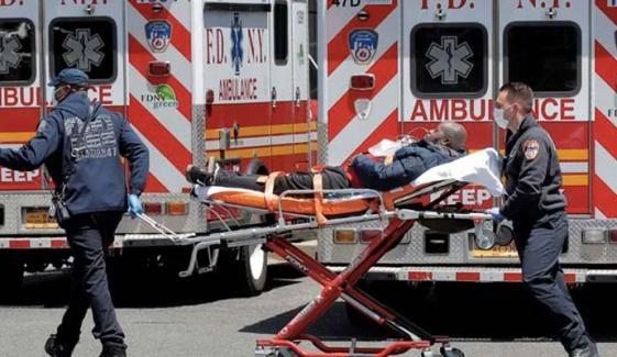 امریکا میں کورونا سے مسلسل دوسرے روز 4 ہزار اموات