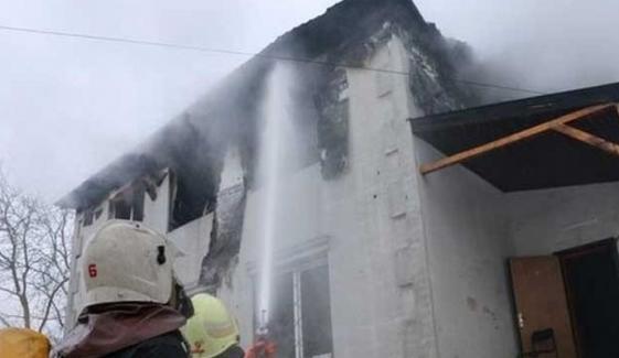 یوکرین :نرسنگ ہاؤس میں آتش زدگی سے 15 افراد ہلاک