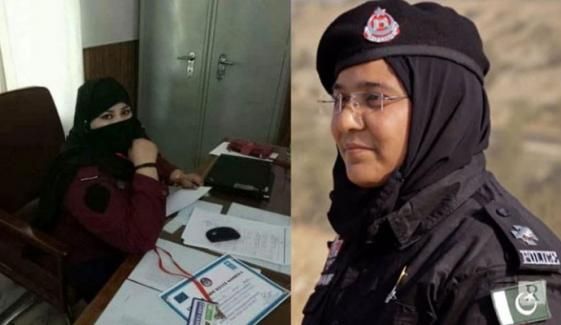 خیبرپختونخوا، 2 لیڈی پولیس اہلکار اقوام متحدہ کے امن مشن کیلئے منتخب