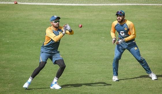 پاکستان کرکٹ ٹیم نے دوسرے دن بھی بھرپور ٹریننگ کی