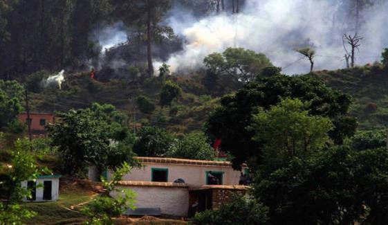ایل او سی پر بھارتی فوج کی بلااشتعال فائرنگ