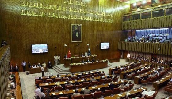 سینیٹ اجلاس: براڈ شیٹ پر حکومت اور اپوزیشن آمنے سامنے