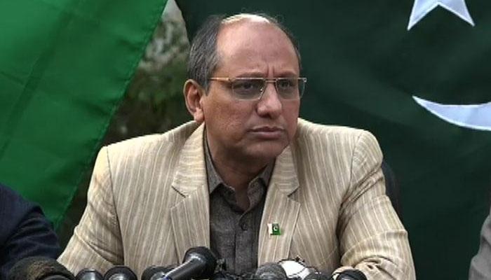 علی زیدی نے خفیہ خط منظر پر لاکر غیر مناسب اقدام کیا، سعید غنی