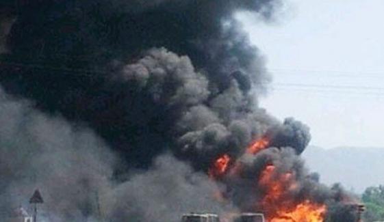 بھارت میں بارود سے بھرے ٹرک میں خوفناک دھماکا، 8 ہلاک