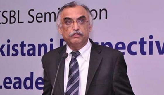 شبر زیدی نے یکم جولائی سے 5ہزار کا نوٹ ختم کرنے کی تجویز دے دی