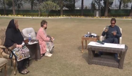 وزیرِاعظم عمران خان سے خواتین ارکان قومی اسمبلی کی ملاقات