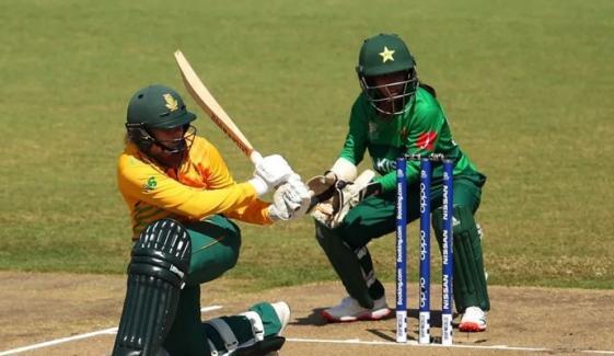 پاکستان ویمنز ٹیم کو جنوبی افریقہ کے ہاتھوں دوسرے ون ڈے میں بھی شکست