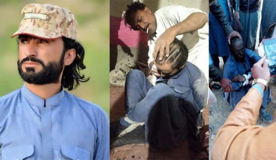 میرے بھائی کے بال مونڈھ کر چہرہ کالا کیا گیا: کوہلو کے شہری کا الزام