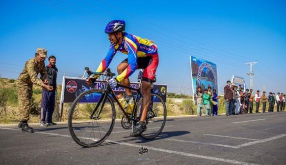 پاک آرمی، سول انتظامیہ کے اشتراک سے تین روزہ سائیکل ریس ختم
