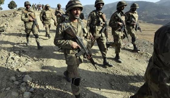 شمالی وزیرستان: سیکیورٹی فورسز کا آپریشن، 5 دہشت گرد ہلاک