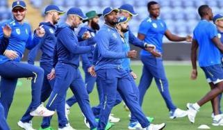 کرکٹ سمیت دیگر کھیلوں کے ہیروز کا جنوبی افریقی ٹیم کا خیر مقدم