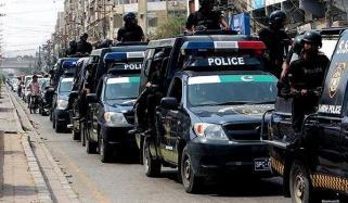 کراچی: پولیس کی کارروائیاں، ایک ہفتے میں 854 ملزمان گرفتار