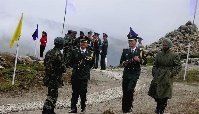 سکم: چینی فوج کے ہاتھوں بھارتی فوجیوں کی پٹائی