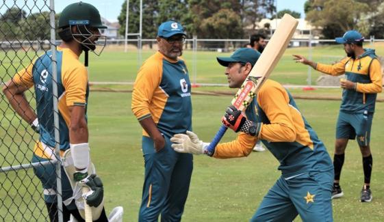 پاکستان اور جنوبی افریقہ کے درمیان پہلے ٹیسٹ کی تیاریاں مکمل