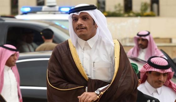 قطر کی ریاض پر میزائل حملے کی مذمت