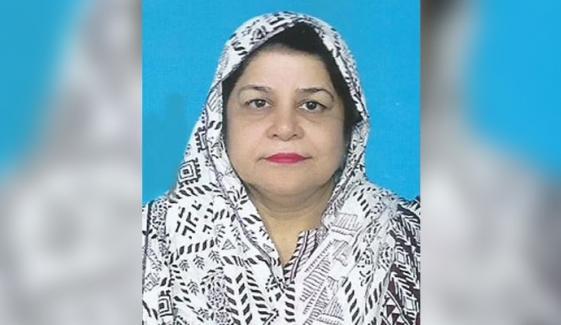 شمیم ممتاز چیئرپرسن سندھ چائلڈ پروٹیکشن اتھارٹی مقرر