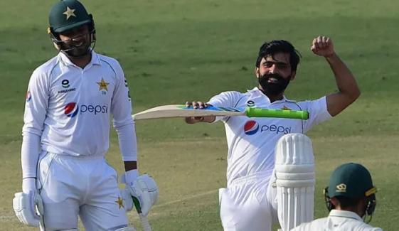 کراچی ٹیسٹ: دوسرے روز کا کھیل ختم، پاکستان کو جنوبی افریقہ پر 88 رنز کی برتری