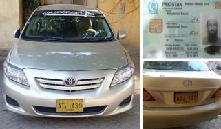 کراچی: کار میں چھپائی گئی ساڑھے 34 کلو چرس برآمد