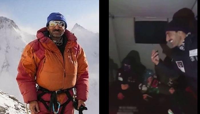 علی سدپارہ کی بیس کیمپ میں ڈانس ویڈیو زیرگردش