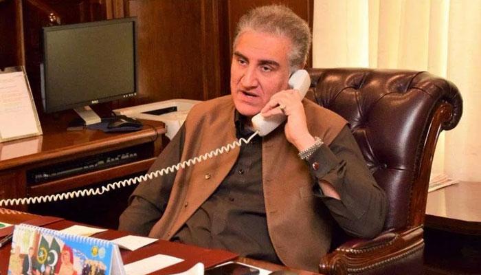 شاہ محمود اور جمہوریہ چلی کے ہم منصب کا فون پر رابطہ