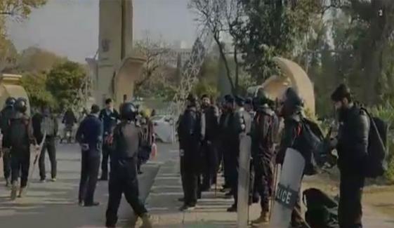 اسلام آباد: سرکاری ملازمین کا دھرنا، 10 قائدین زیرِ حراست