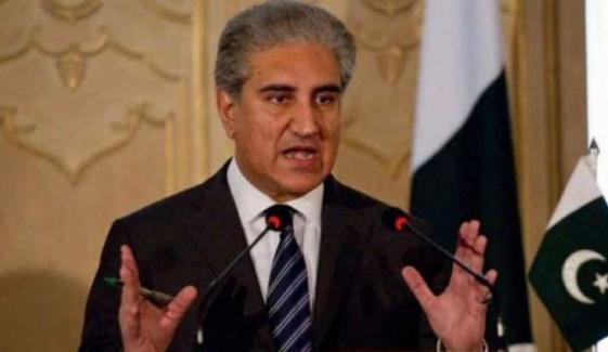 ہم یو این او کے چارٹر کے مطابق دنیا کیساتھ چلنا چاہتے ہیں، وزیر خارجہ شاہ محمود