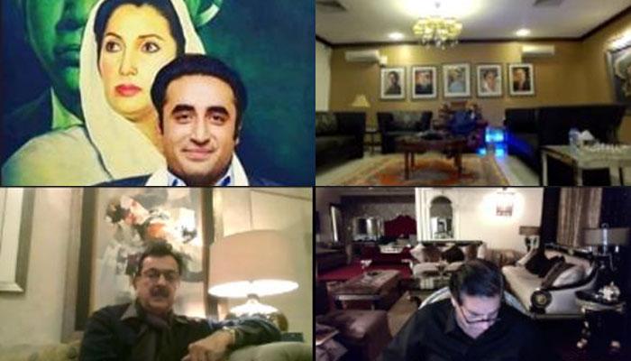 بلاول ہاؤس کراچی میں پی پی کا اہم اجلاس، سینیٹ امیدواروں کے ناموں پر غور