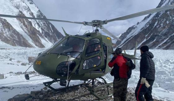علی سدپارہ کی تلاش ،جدید آلات کی مدد سے سرچ آپریشن شروع