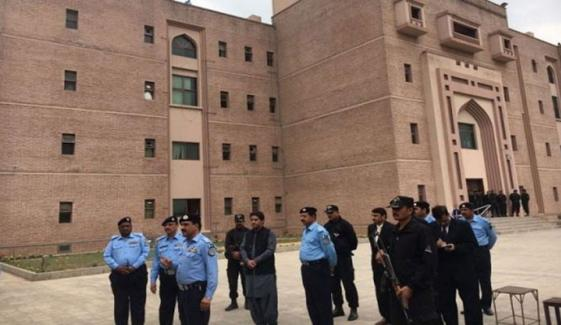 اسلام آباد: تنخواہ میں اضافے کیلئے عدالتی ملازمین کا بھی احتجاج