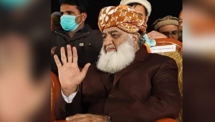ووٹ چور حکومت قبول نہیں، مولانا فضل الرحمٰن