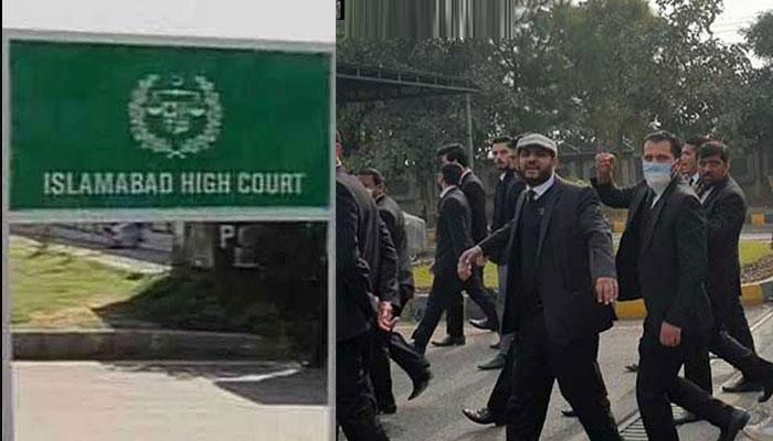 وکلاء کیخلاف توہین عدالت کی کارروائی کیلئے 5 رکنی بنچ تشکیل