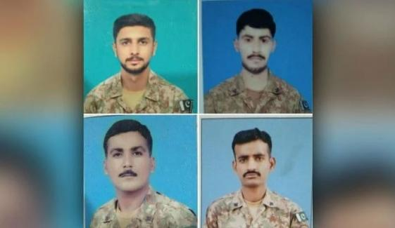 جنوبی وزیرستان: سیکیورٹی فورسز پر حملہ، 4 جوان شہید، 4 دہشتگرد ہلاک