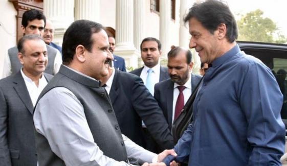 وزیرِاعظم عمران خان لاہور پہنچ گئے