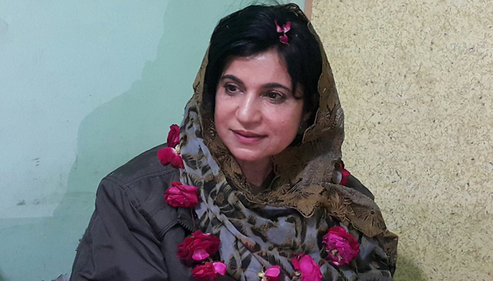 ڈاکٹر روبینہ اختر نے پارٹی ٹکٹ کے بغیر کاغذات نامزدگی جمع کرادیے