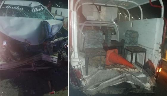 کراچی: تیز رفتار کار کی ٹکر سے رینجرز اہلکار جاں بحق