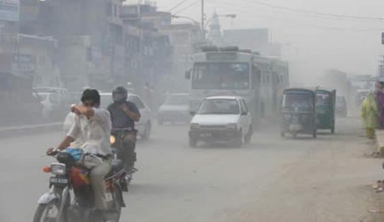 آج کراچی کی فضا مضر صحت ہے
