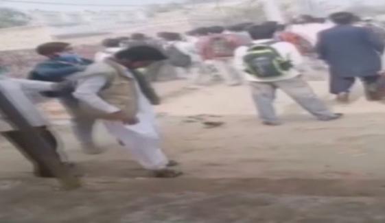 مظفر گڑھ: طلبہ کے 2 گروپوں میں تصادم