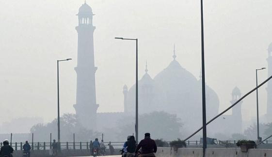 لاہور دنیا بھر میں آلودگی کے لحاظ سے آج چھٹے نمبر پر