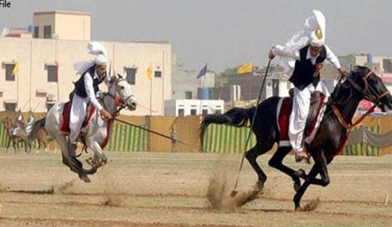 سرگودھا: بھیرہ میں نیزہ بازی کے دلچسپ مقابلے
