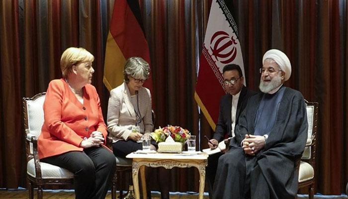 جرمن چانسلر کا ایرانی صدر سے ٹیلیفونک رابطہ، جوہری معاہدے پر گفتگو