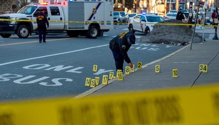 امریکا:فلاڈیلفیا میں فائرنگ سے 8 افراد زخمی