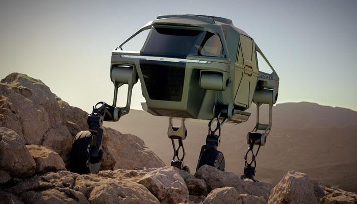 گاڑیوں کو ٹانگوں پر چلنے میں مدد فراہم کرنے والی مشین متعارف