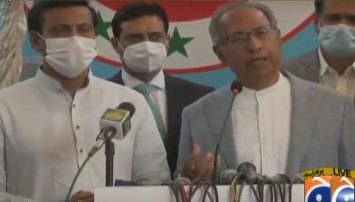 سینیٹ انتخابات : PTI کا وفد MQM کے مرکز پہنچ گیا
