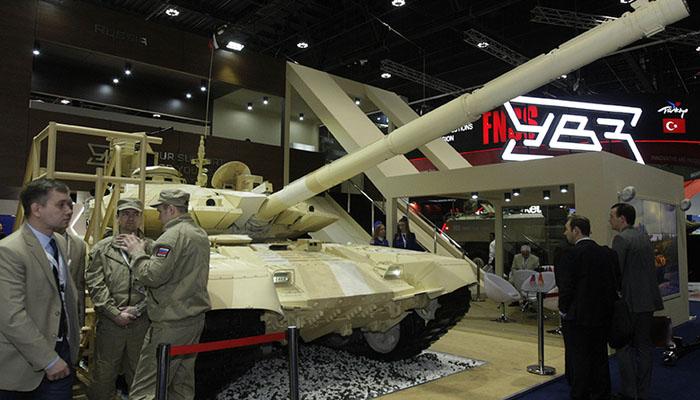 متحدہ عرب امارات: 5روزہ بین الاقوامی دفاعی نمائش جاری
